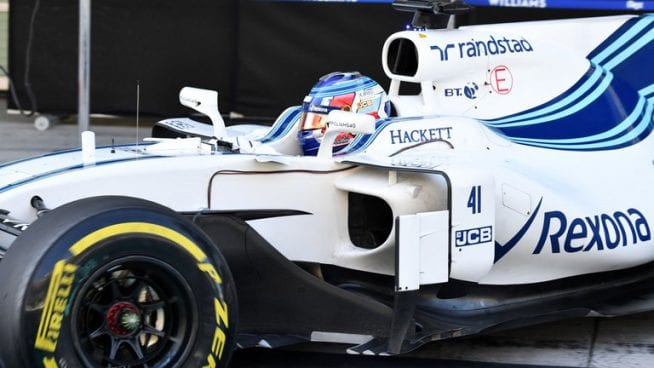 Sergey Sirotkin - Williams -Test Abu Dhabi