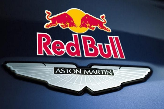 red bull aston martin - f1 2018 entry list
