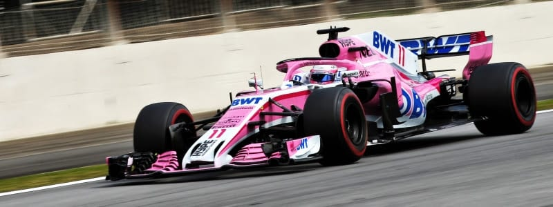 Sergio Pérez - Force India - Brasil - Carrera