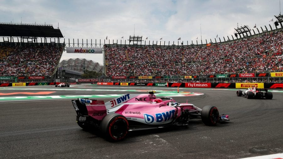esteban ocon - force india - previo gp de brasil 2018