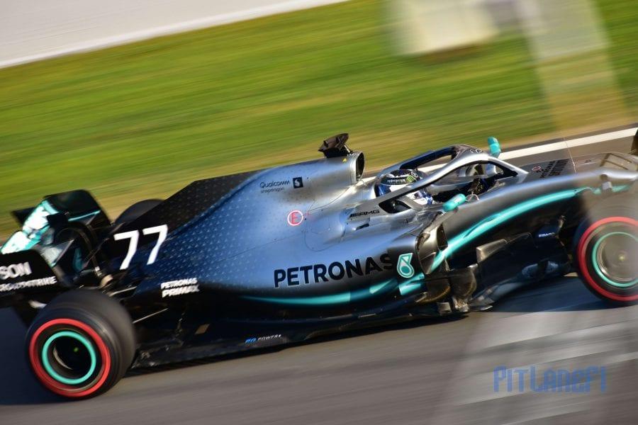 Valtteri Bottas - Mercedes - Test F1 2019
