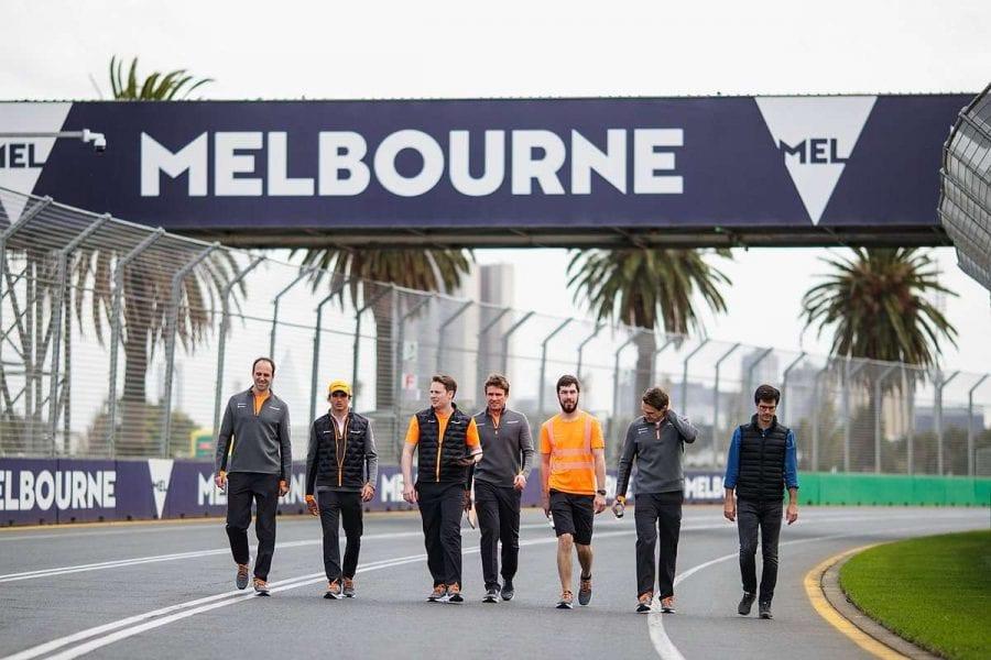 Sainz y Norris en Melbourne, el inicio de un nuevo viaje con McLaren
