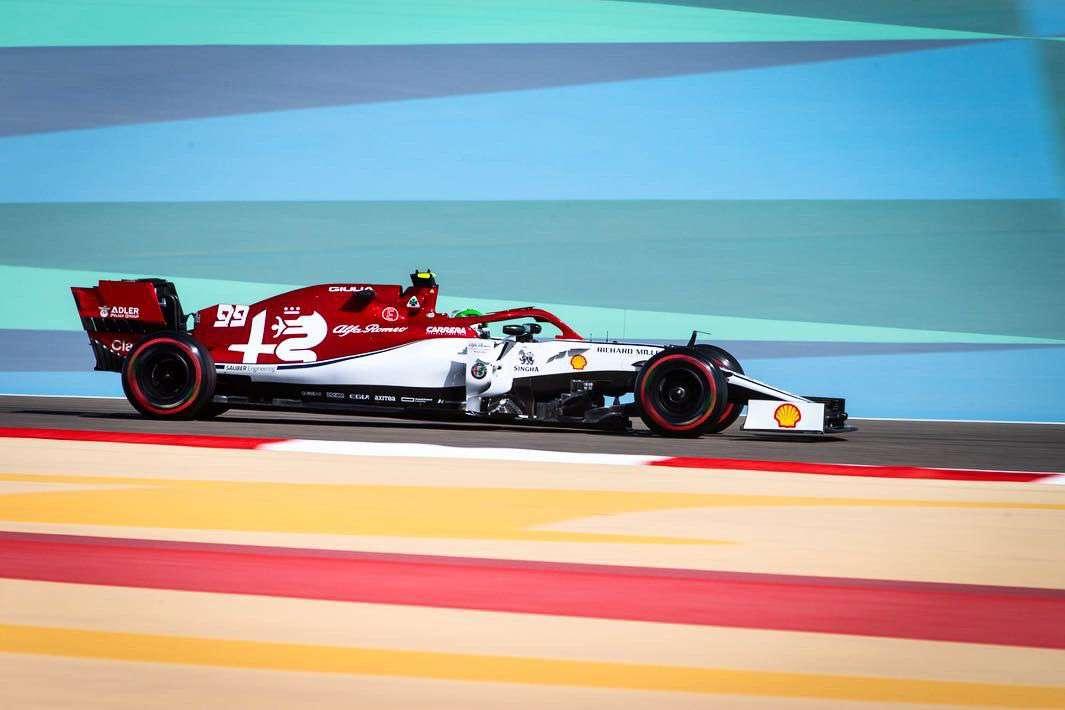 Alfa Romeo llega a ciegas a la clasificación de Bahréin