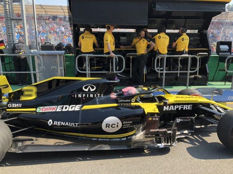 Aciago debut de Ricciardo con Renault; Hülkenberg rescata los primeros puntos del año