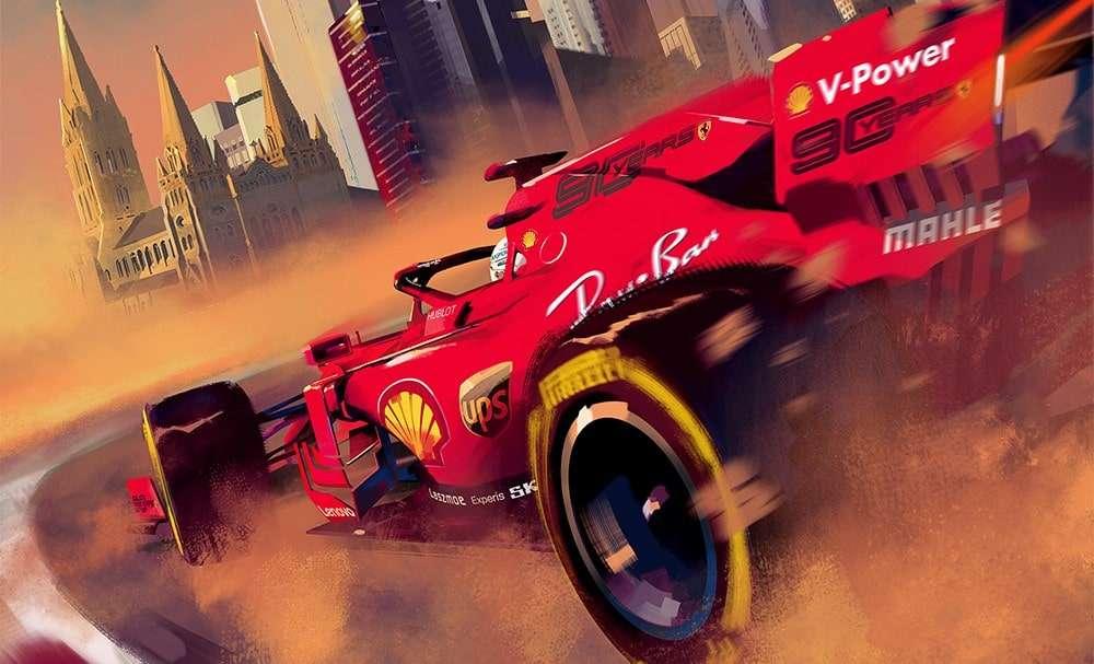 Ferrari se presenta como el gran favorito y con toda la presión
