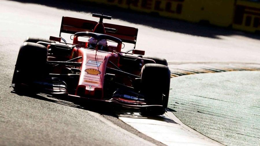 Ferrari se queda a 7 décimas de Mercedes en Australia. Vettel saldrá 3º y Leclerc 5º