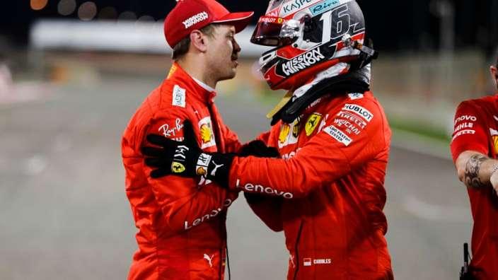 """Leclerc: """"Es una sensación increíble, pero ahora tenemos que centrarnos en la carrera"""""""