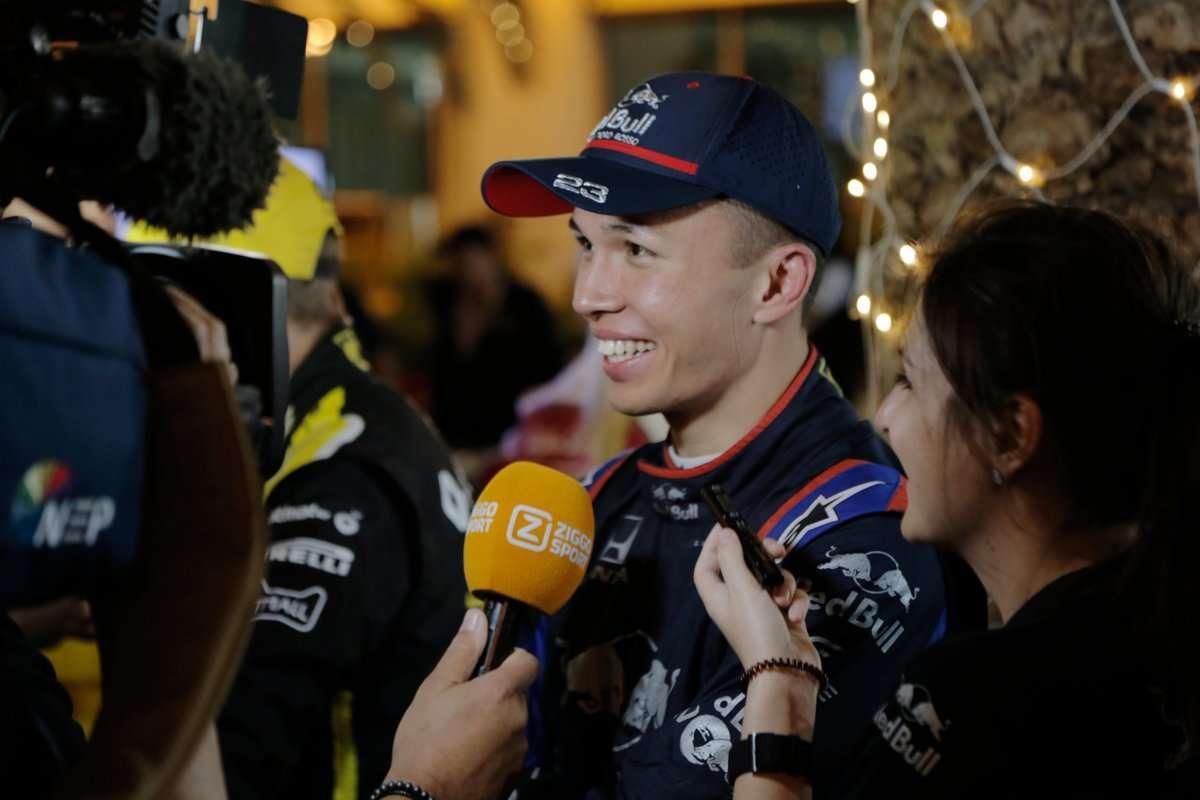 Primeros puntos para Albon y tres errores de Kvyat en Bahréin