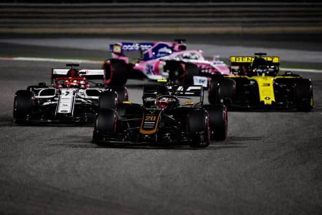 El lento hundimiento de Haas en Bahréin