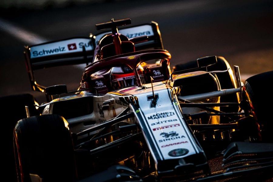 Räikkönen, décimo en Bakú:
