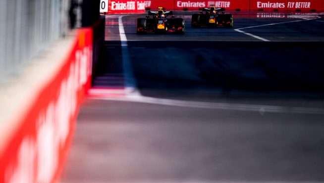 Red Bull: una transmisión rota y un podio perdido