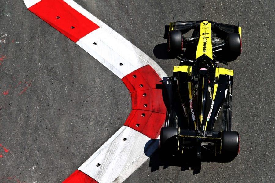 Renault se desinfla en la clasificación del GP de Azerbaiyán
