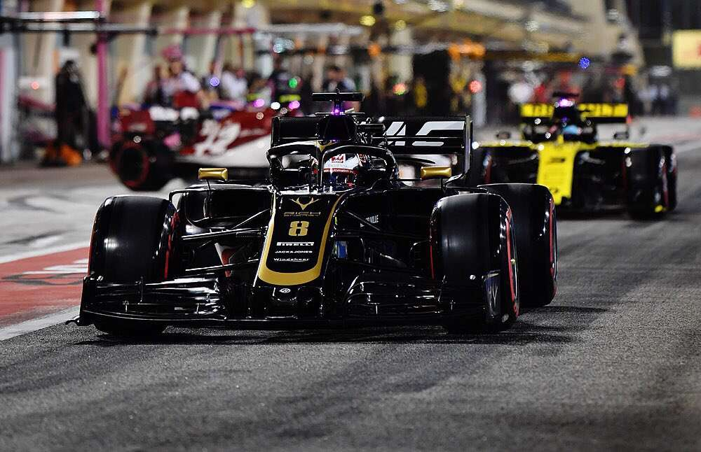 Romain Grosjean - Haas - Bahréin - Carrera