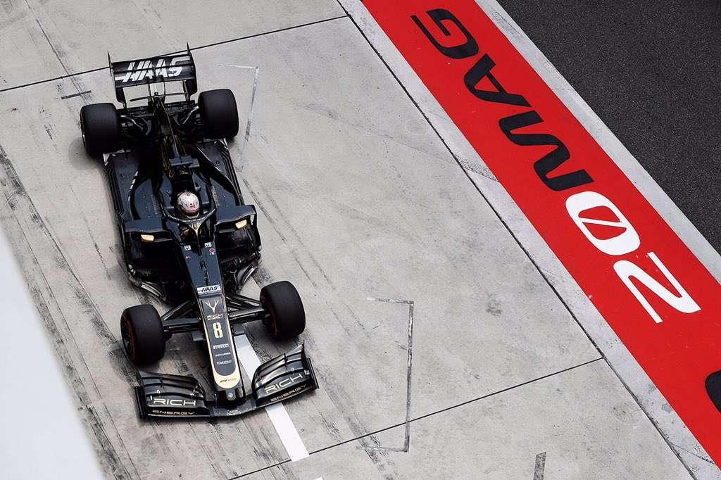 Un error de cálculo deja a Haas sin tiempo en Q3