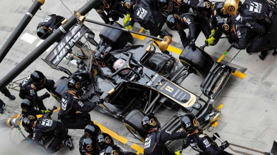 Haas retrocede y no consigue meter a ninguno de sus coches en los puntos