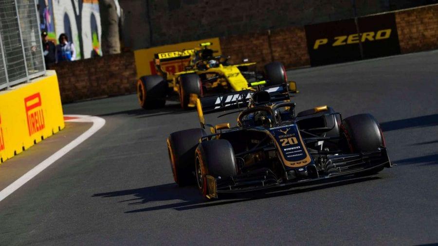 Haas vuelve a sufrir con los neumáticos y se va de vacío de Bakú