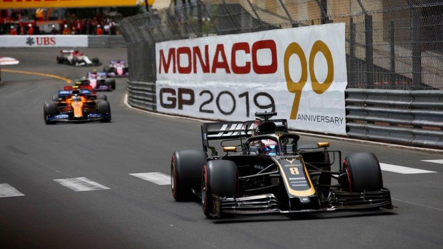 Grosjean, décimo en Mónaco: