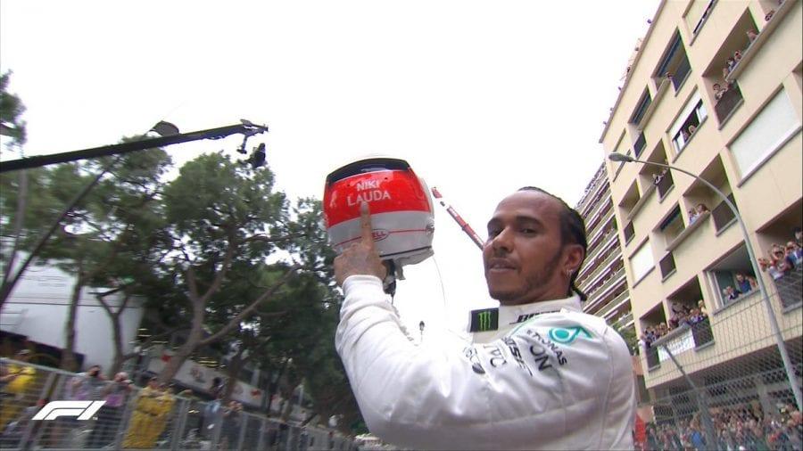Mercedes sale de Mónaco más líder y dedica el triunfo a Niki Lauda