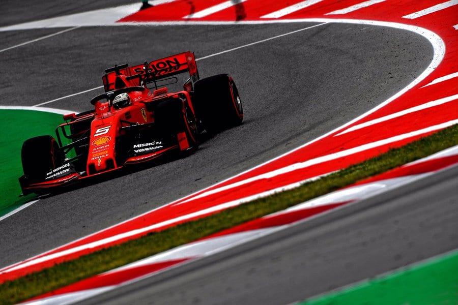 Ferrari se hunde en la clasificación del Gran Premio de España