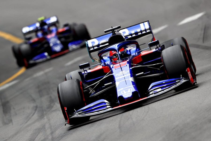 Domingo redondo para Toro Rosso en Mónaco