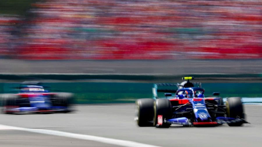 Toro Rosso se va sin puntos de Francia