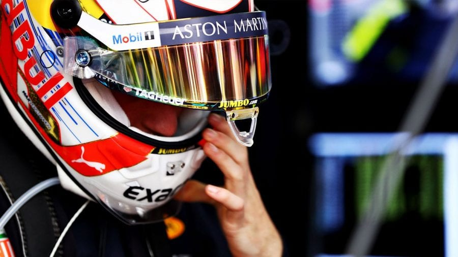 Verstappen saldrá 9º tras un día de