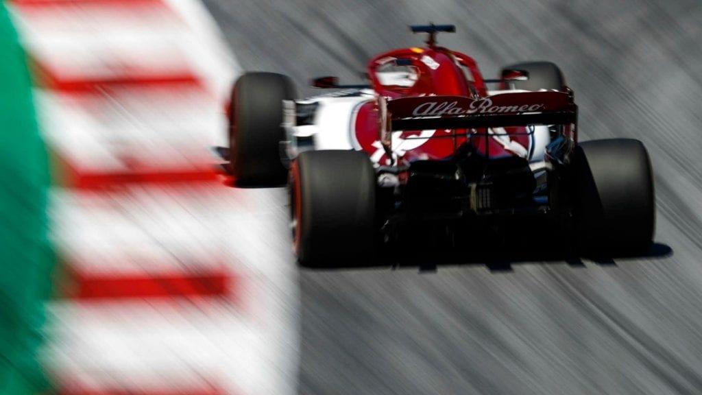kimi räikkönen - alfa romeo racing - f1 - gp de austria 2019 f1