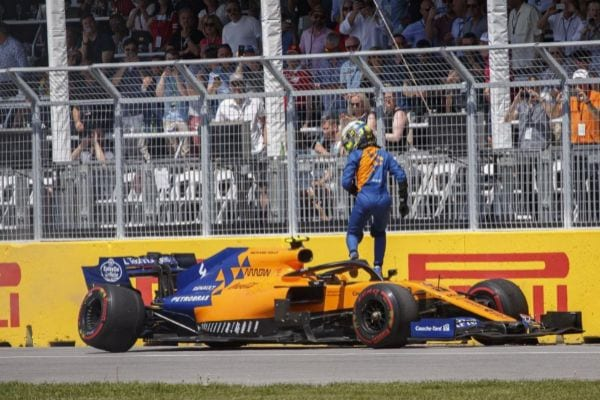 McLaren se queda sin puntuar en Montreal