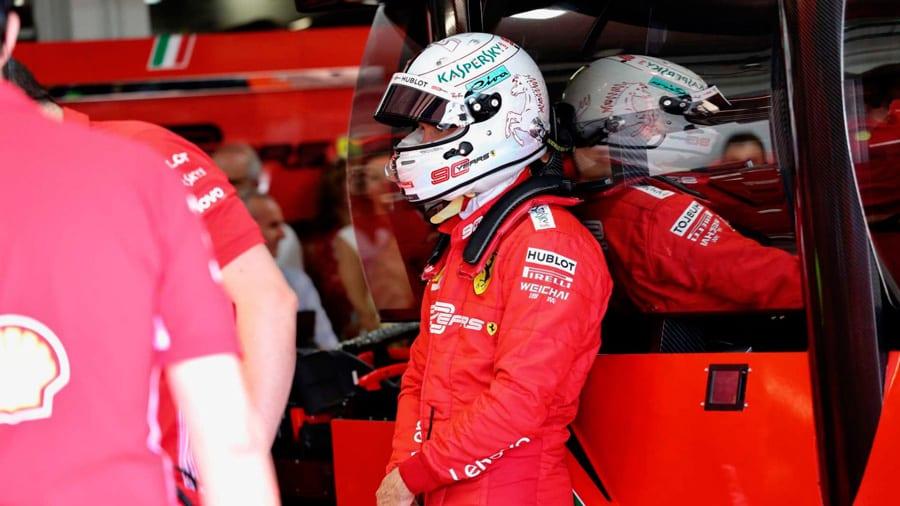 Vettel se hunde en la clasificación y saldrá 7º