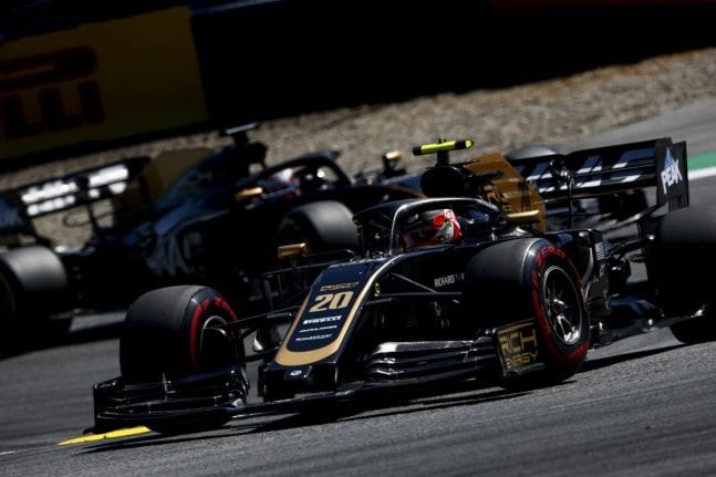 Haas llega a Silverstone con la necesidad de mejorar el ritmo de carrera