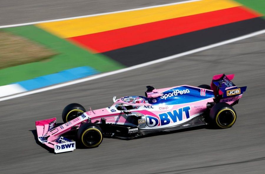 Racing Point mejora en Alemania
