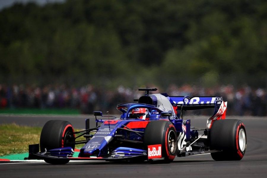 Toro Rosso da un paso adelante en Silverstone