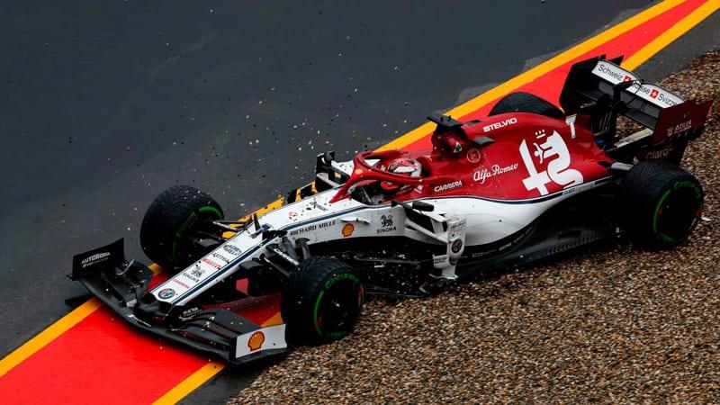 Alfa Romeo pierde dos posiciones de punto por una sanción tras la carrera