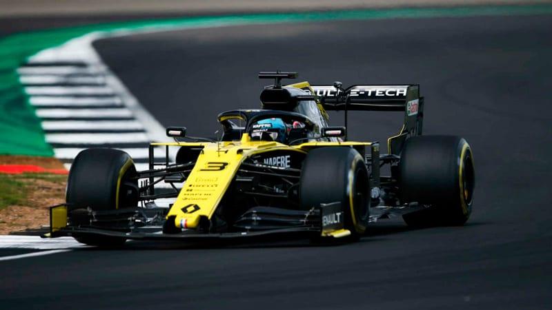 Ricciardo perdió ante Sainz la lucha por ser el mejor del resto