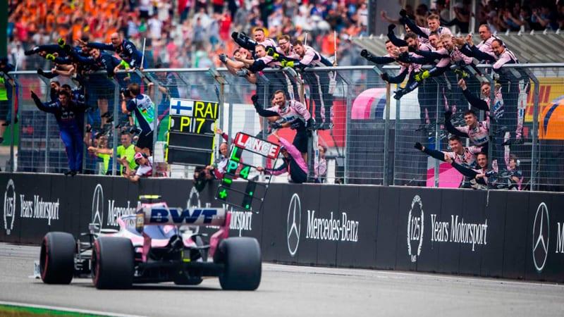 Tragicomedia en Racing Point: Stroll pierde el podio por dos vueltas