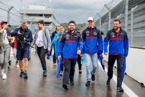 Daniil Kvyat afronta un complicado Gran Premio de casa