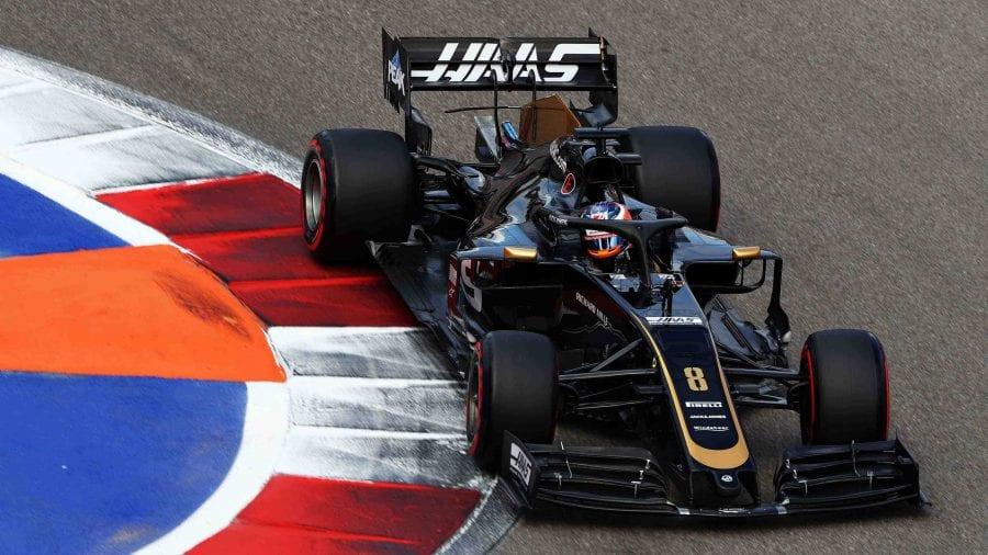 Grosjean mete a Haas en Q3 en Rusia