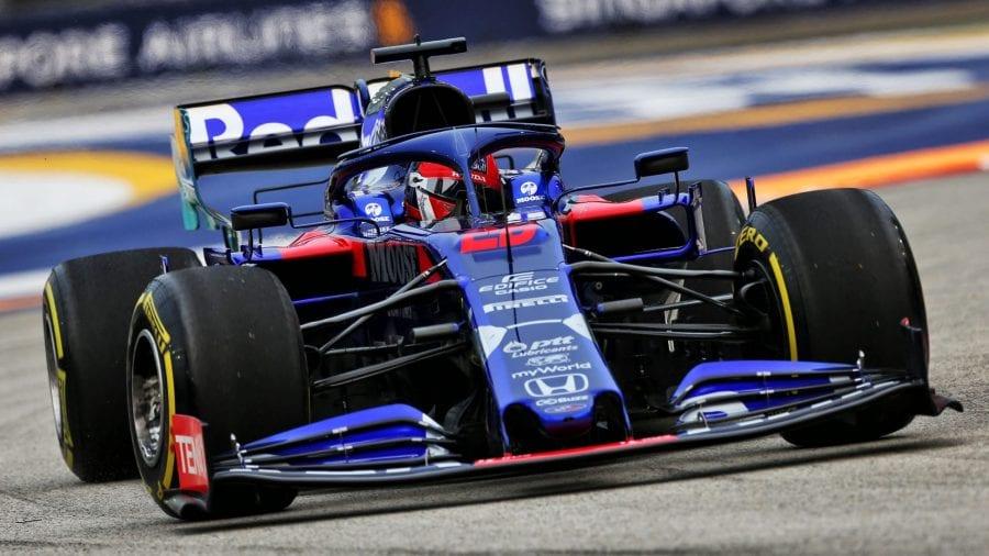 Toro Rosso apunta a la Q3 en Singapur