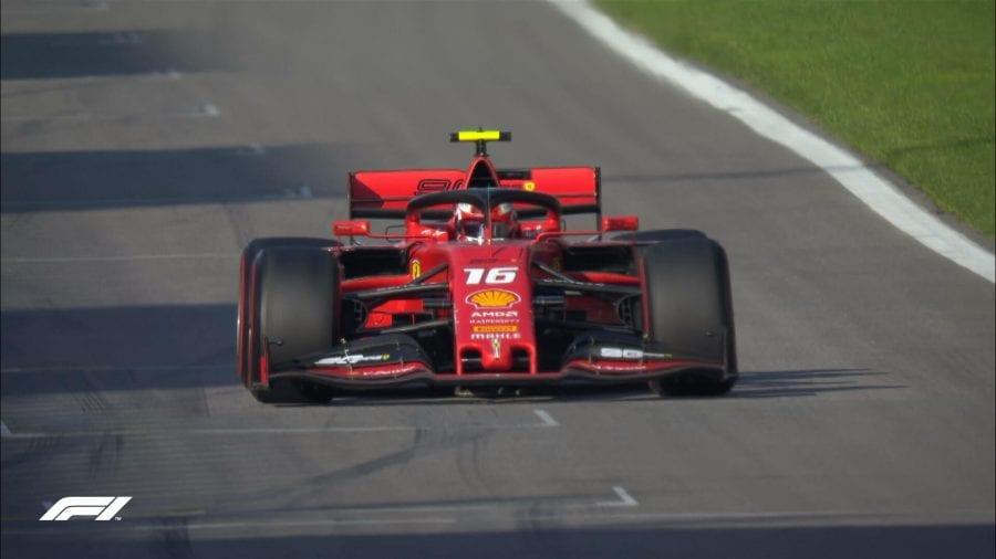 Leclerc vuela en Sochi. Sainz: 5º