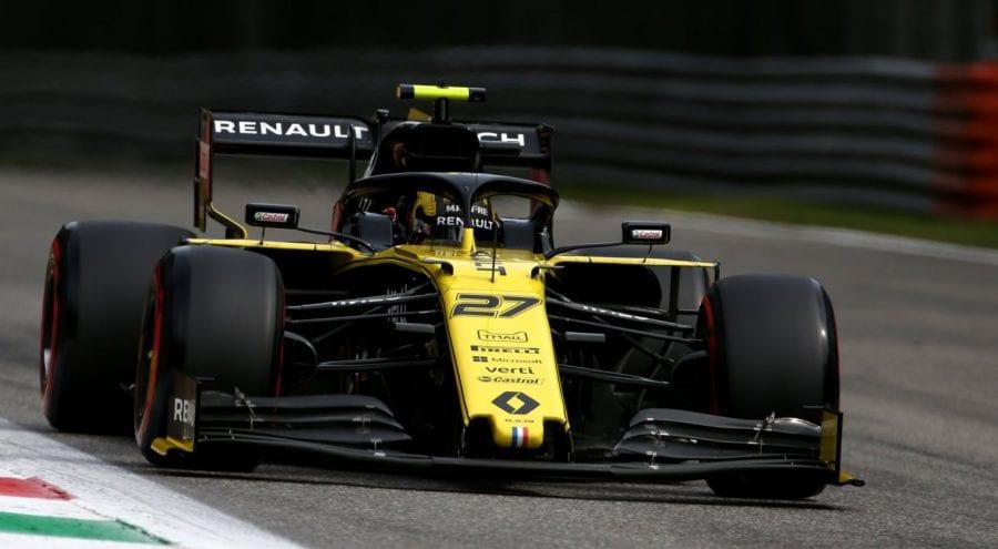 Renault partirá desde la tercera línea en Monza