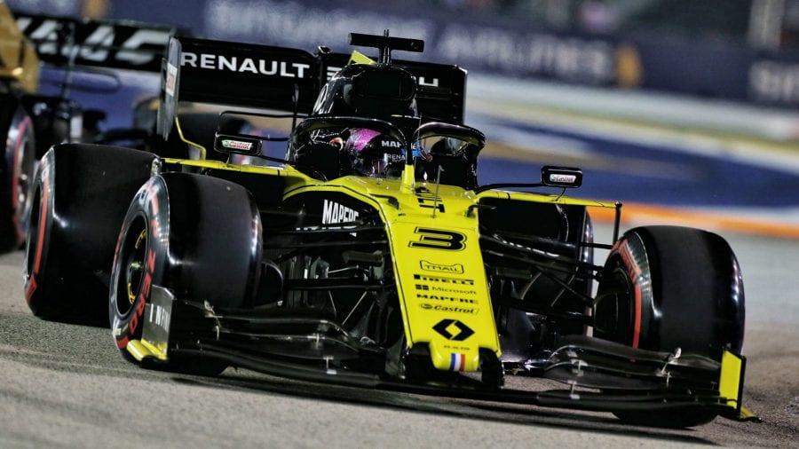 Ricciardo, descalificado en Singapur