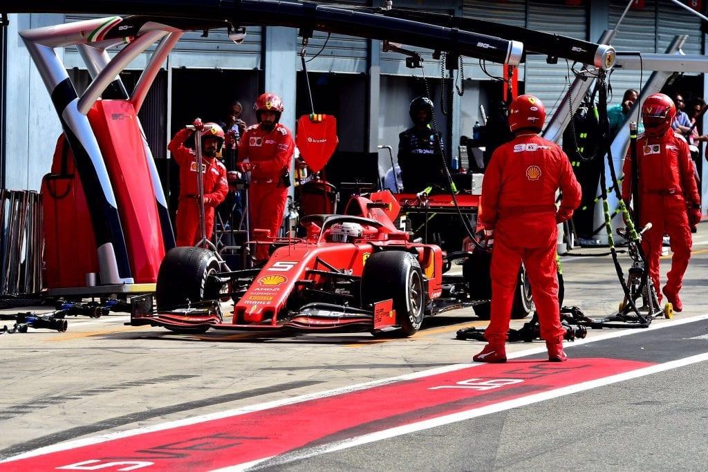 Sebastian Vettel - Ferrari - Monza