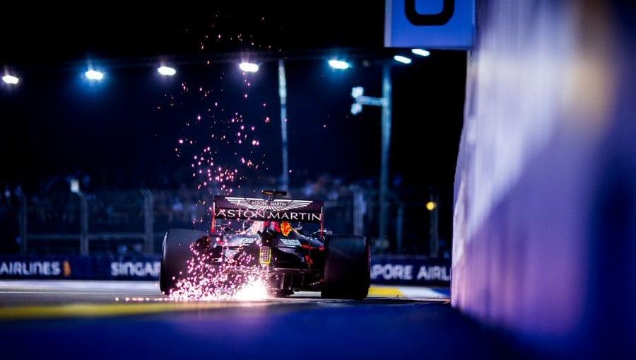 Verstappen, decepcionado con la cuarta plaza en Singapur