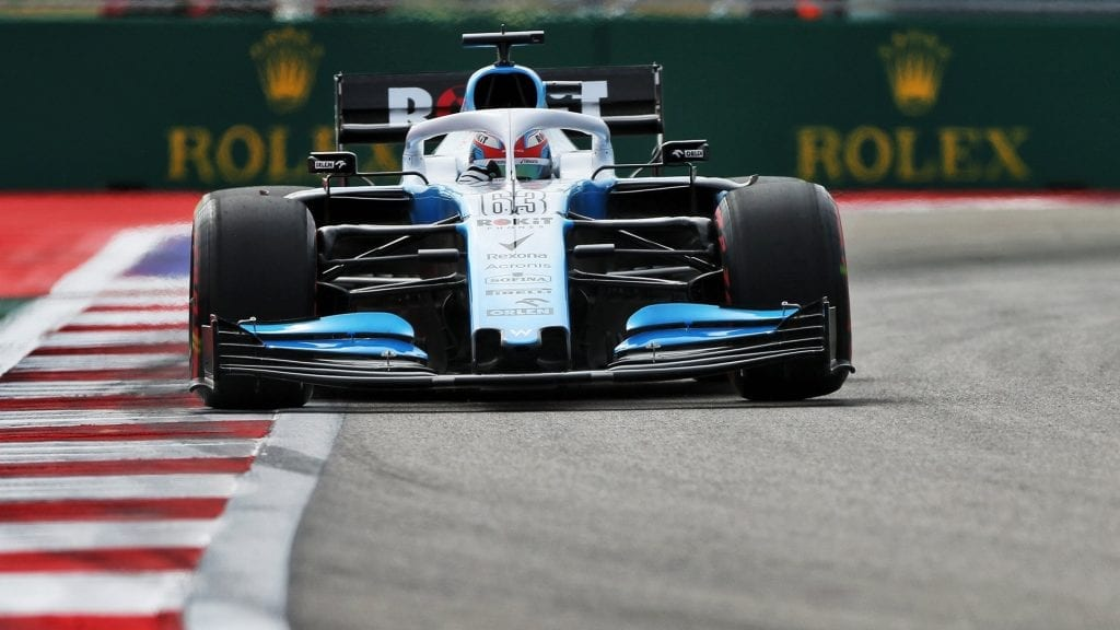 george russell - williams - gp de rusia 2019 f1 libres