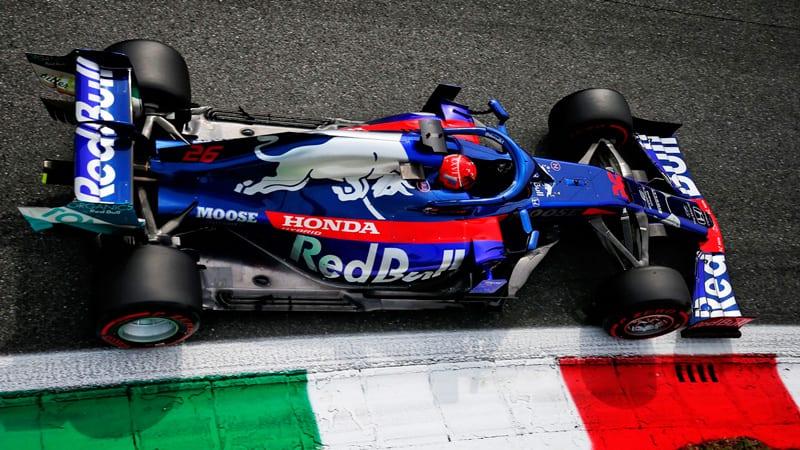 El tráfico se carga las aspiraciones de Toro Rosso