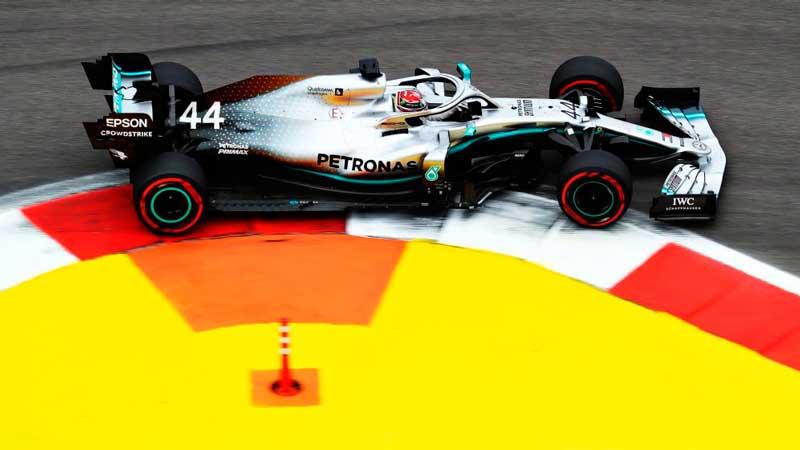 Mercedes teme a sus rivales y centra su viernes en preparar el domingo