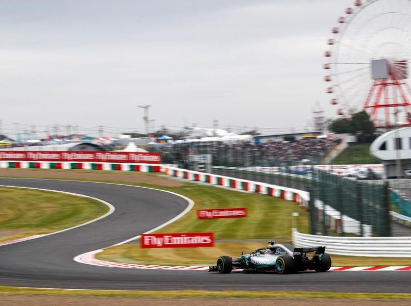 Mercedes buscará su noveno doblete de la temporada en Japón
