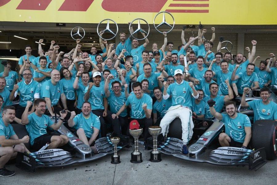 Mercedes se corona en Suzuka: sexto título de constructores consecutivo