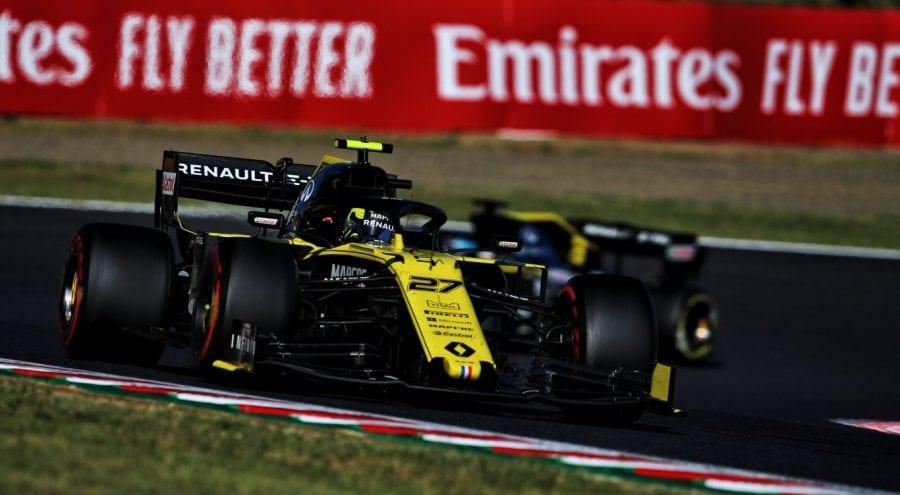 Renault remonta en Suzuka pero se aleja de McLaren