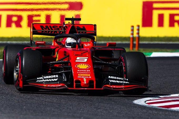 Ferrari perdió otro doblete en Suzuka